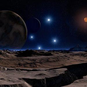 Planète ouverte, fermée et intermédiaire