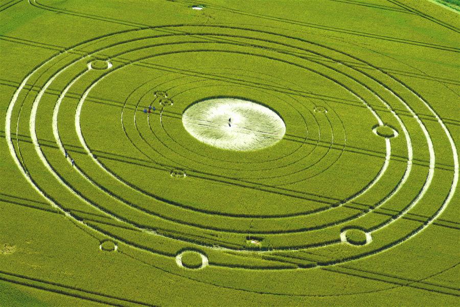 Les crop circles dans le Shandarisme