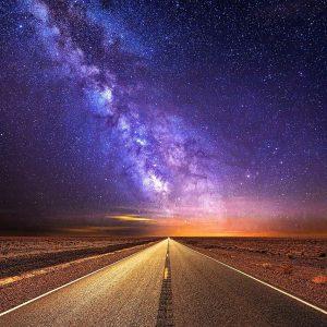Être sur le chemin des étoiles